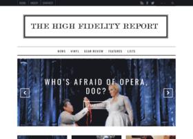 thehighfidelityreport.com