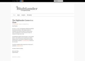 thehighlanderonline.com