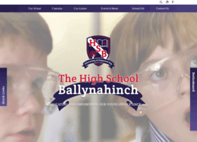 thehighschoolballynahinch.co.uk
