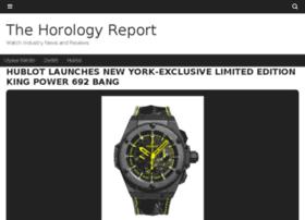thehorologyreport.com