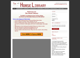thehorselibrary.com