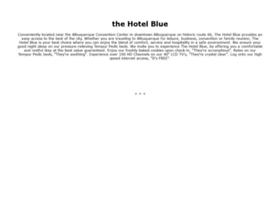 thehotelblue.com