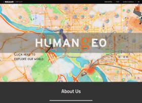 thehumangeo.com