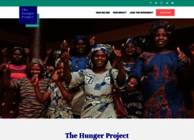 thehungerproject.co.uk