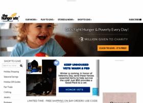 thehungersite.greatergood.com