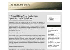 thehuntersmark.net