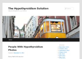 thehypothyroidismsolutionz.com