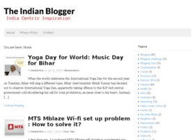 theindianblogger.com