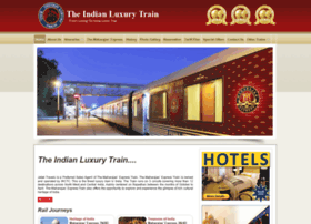 theindianluxurytrain.com