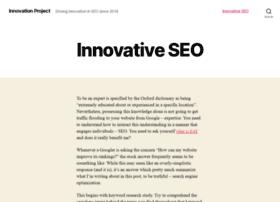 theinnovationproject2014.com