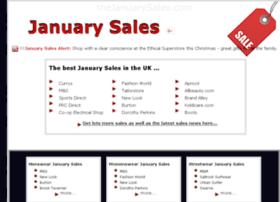 thejanuarysales.com