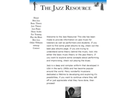 thejazzresource.com