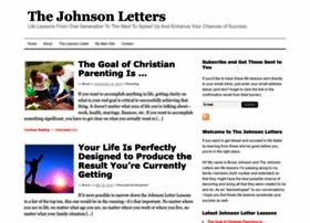 thejohnsonletters.com