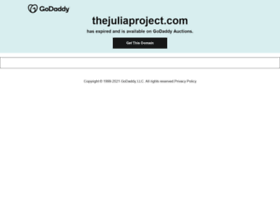 thejuliaproject.com