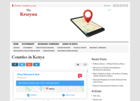 thekenyan.co.ke