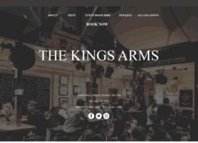 thekingsarmslondon.co.uk