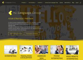 thelanguagegroup.com