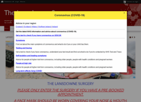 thelansdownesurgery.co.uk