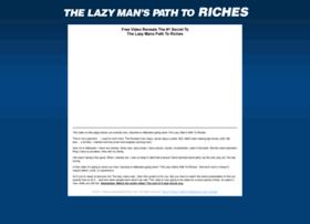 thelazymanspathtoriches.com