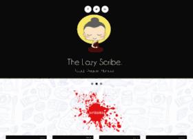 thelazyscribe.com