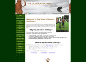 theleathergolfbag.com