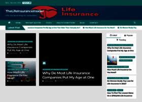 thelifeinsuranceinsider.com