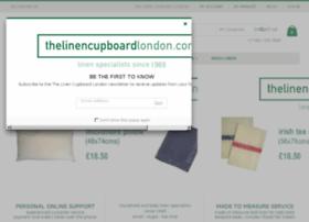 thelinencupboardlondon.com