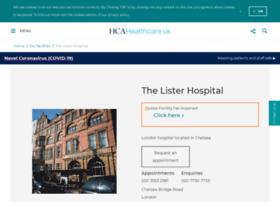 thelisterhospital.com