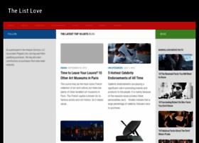 thelistlove.com