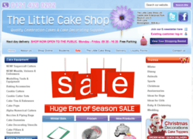 thelittlecakeshop.co.uk