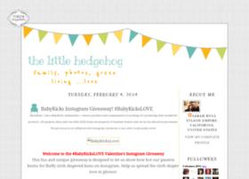 thelittlehedgehog.blogspot.nl