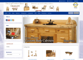 thelogfurniturestore.com