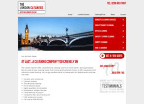 thelondoncleaners.co.uk