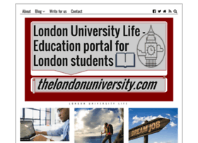thelondonuniversity.com