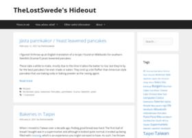 thelostswede.com