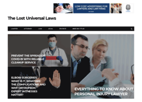 thelostuniversallaws.com