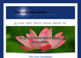 thelovefoundation.com