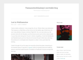 themanwhofellasleep.wordpress.com