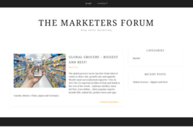 themarketersforum.co.uk
