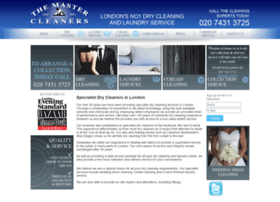 themastercleaners.com