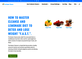 themastercleanse.org