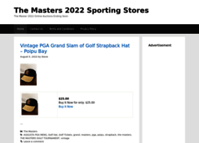 themasters.sportingstores.net