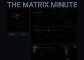 thematrixminute.one
