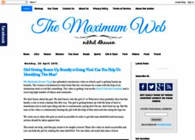 themaximumweb.blogspot.in