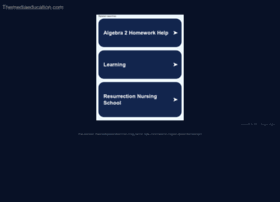 themediaeducation.com
