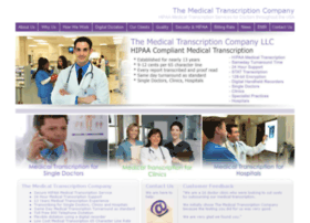 themedicaltranscriptioncompany.com