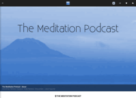 themeditationpodcast.com