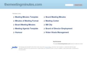 themeetingminutes.com