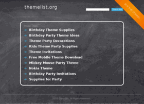 themelist.org