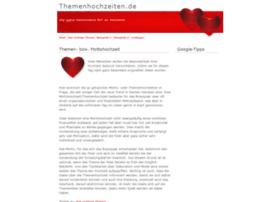 themenhochzeiten.de